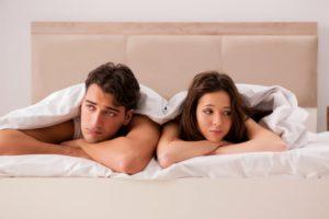 неналаженная половая жизнь
